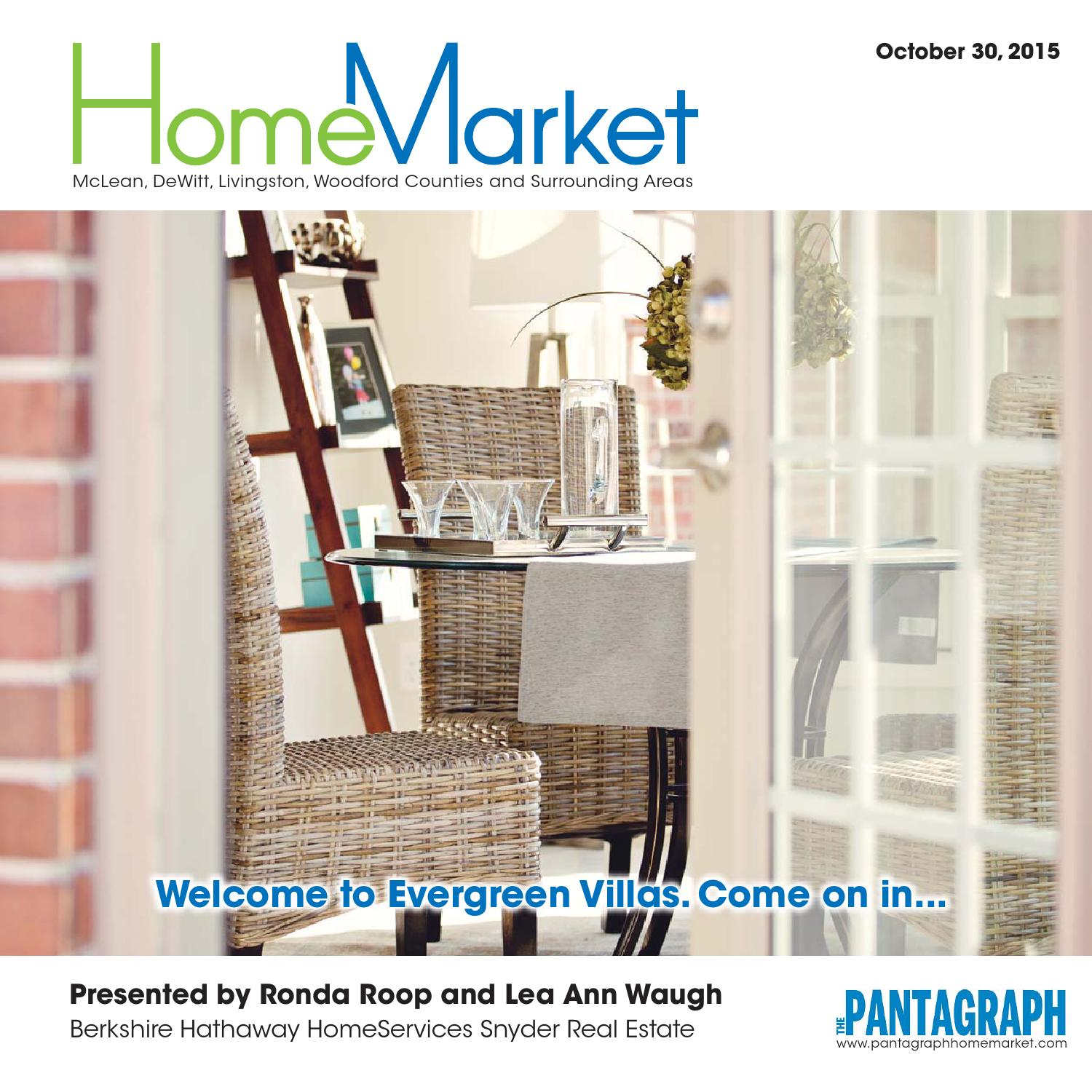 Home Market – October 30 2015 by Panta Graph issuu