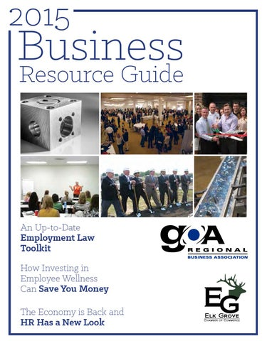 GOA 2015 Business Resource Guide by Townsquare Publications