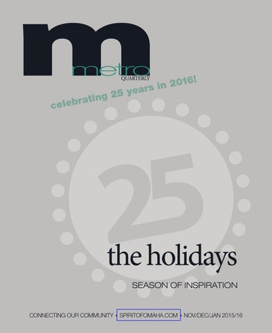 3c3fb7a05538 metroQUARTERLY Winter Edition 2015 16 by metroMAGAZINE - issuu