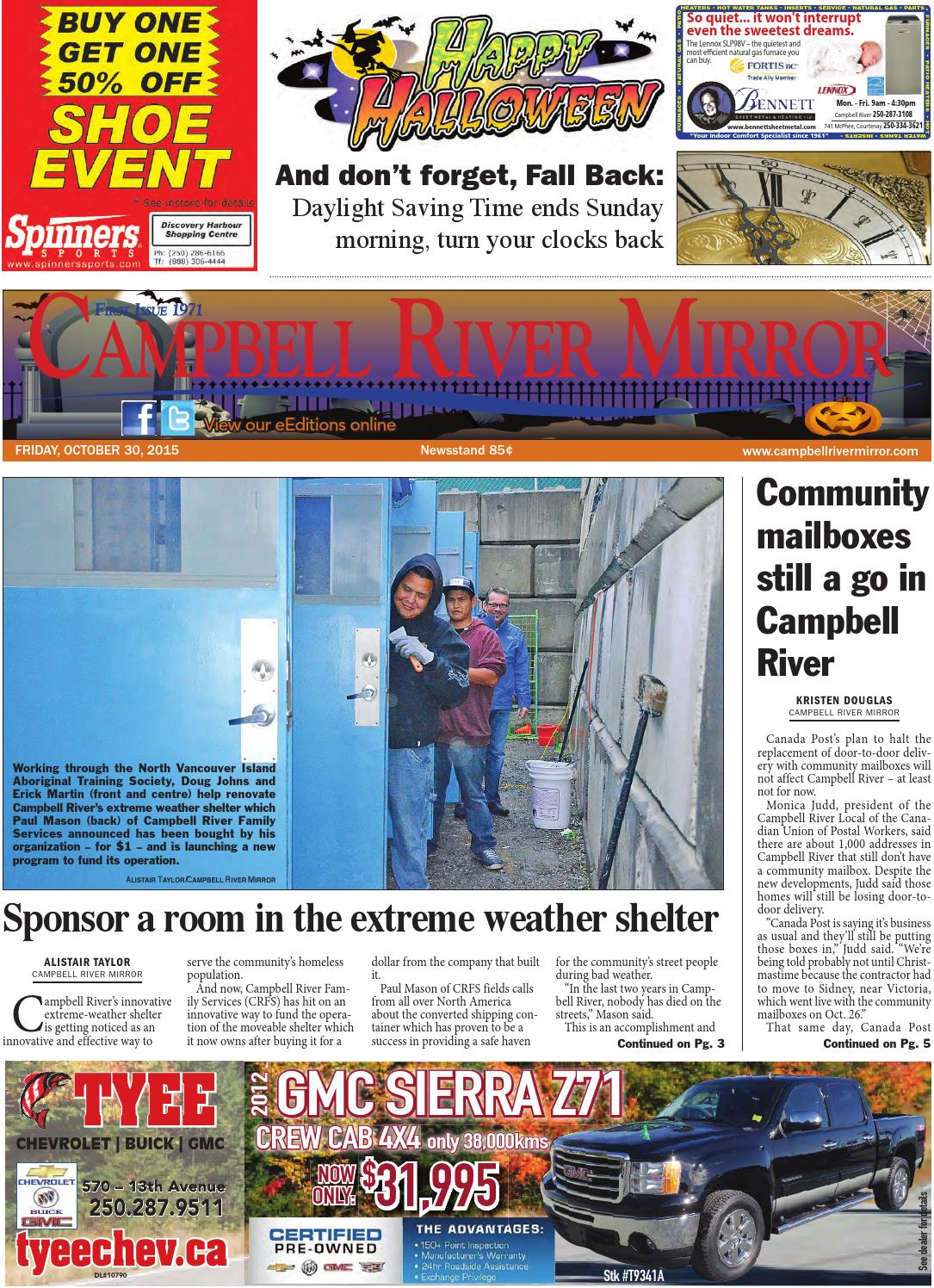 Campbell River Mirror, October 30, 2015 by Black Press - issuu