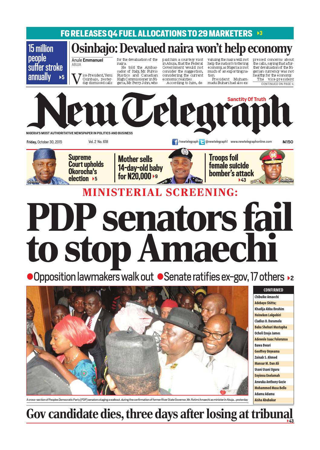 New telegraph friday, october 30, 2015 binder1 by