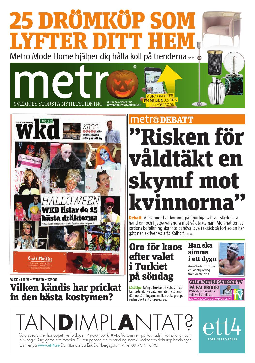 20151030 se goteborg by Metro Sweden - issuu 266de44855963