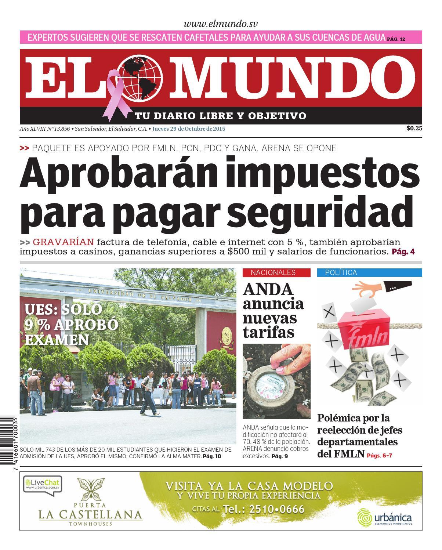 Mundo291015 by Diario El Mundo - issuu