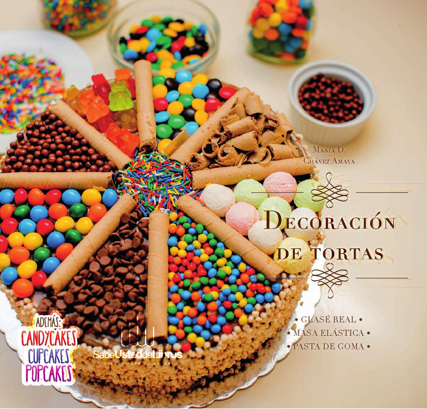 Decoracion De Tortas By Sabe Usted De Libros Issuu - Decoracion-de-tortas-infantiles