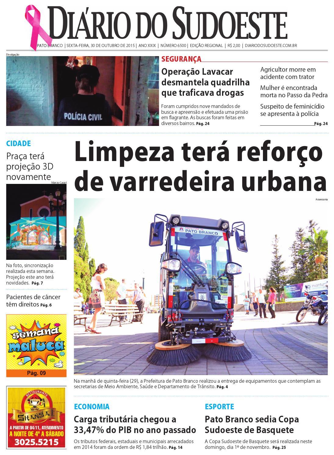 9226a3d62 Diário do sudoeste 30 de outubro de 2015 ed 6500 by Diário do Sudoeste -  issuu