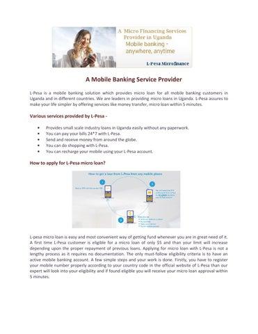 Money loan mutual financing picture 2