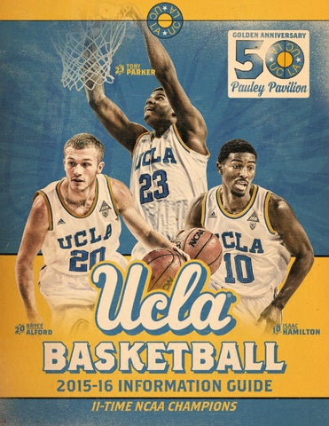 2015 16 UCLA Mens Basketball Information Guide By Athletics