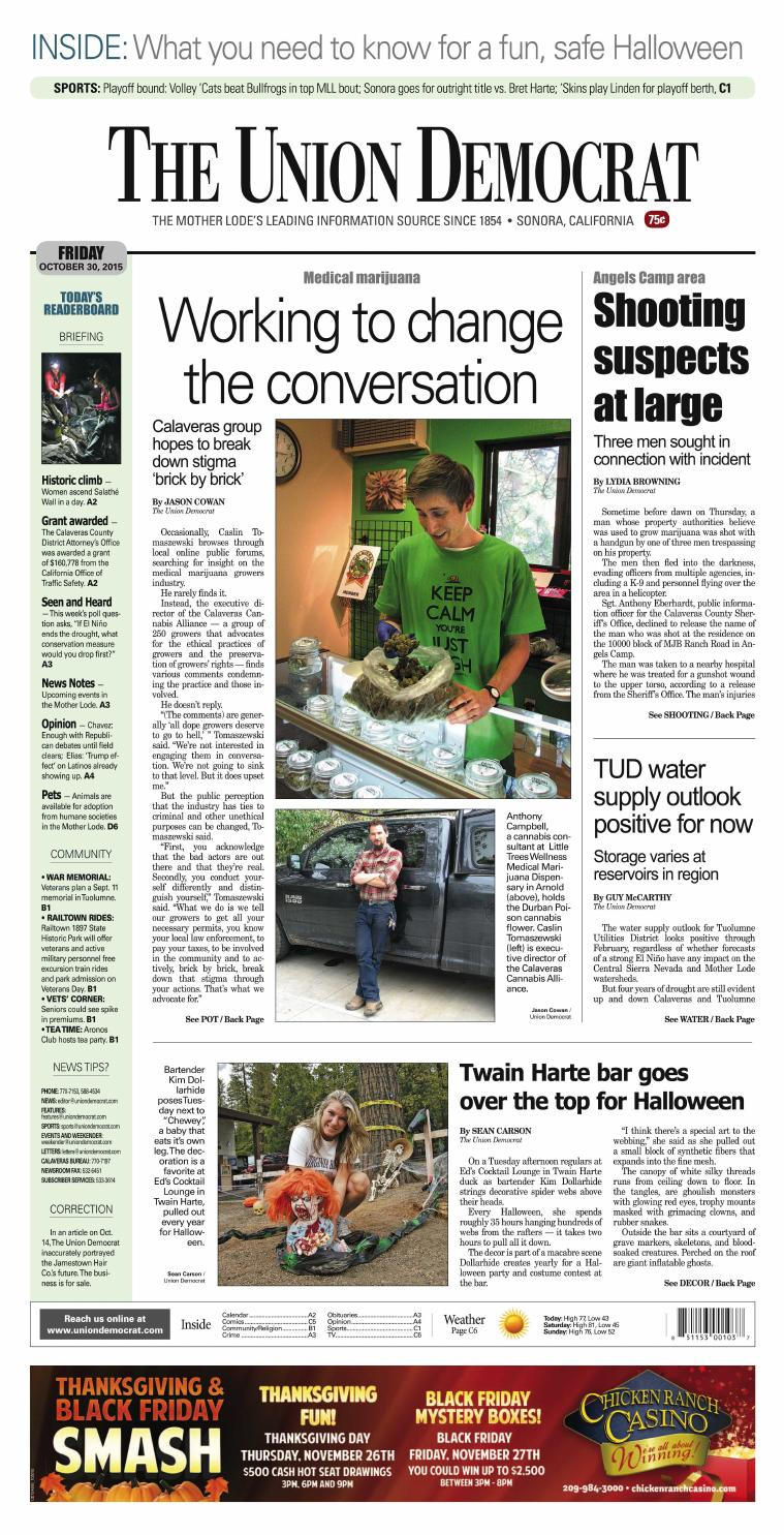 The Union Democrat 10-30-2015 by Union Democrat - issuu