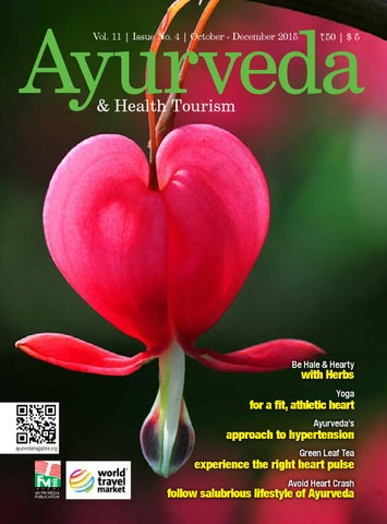 Ayurveda October December 2015 by Ayurveda & Health Tourism