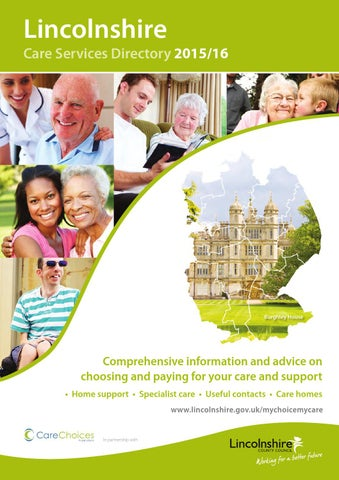 Lincolnshire Care Services Directory 2015 16