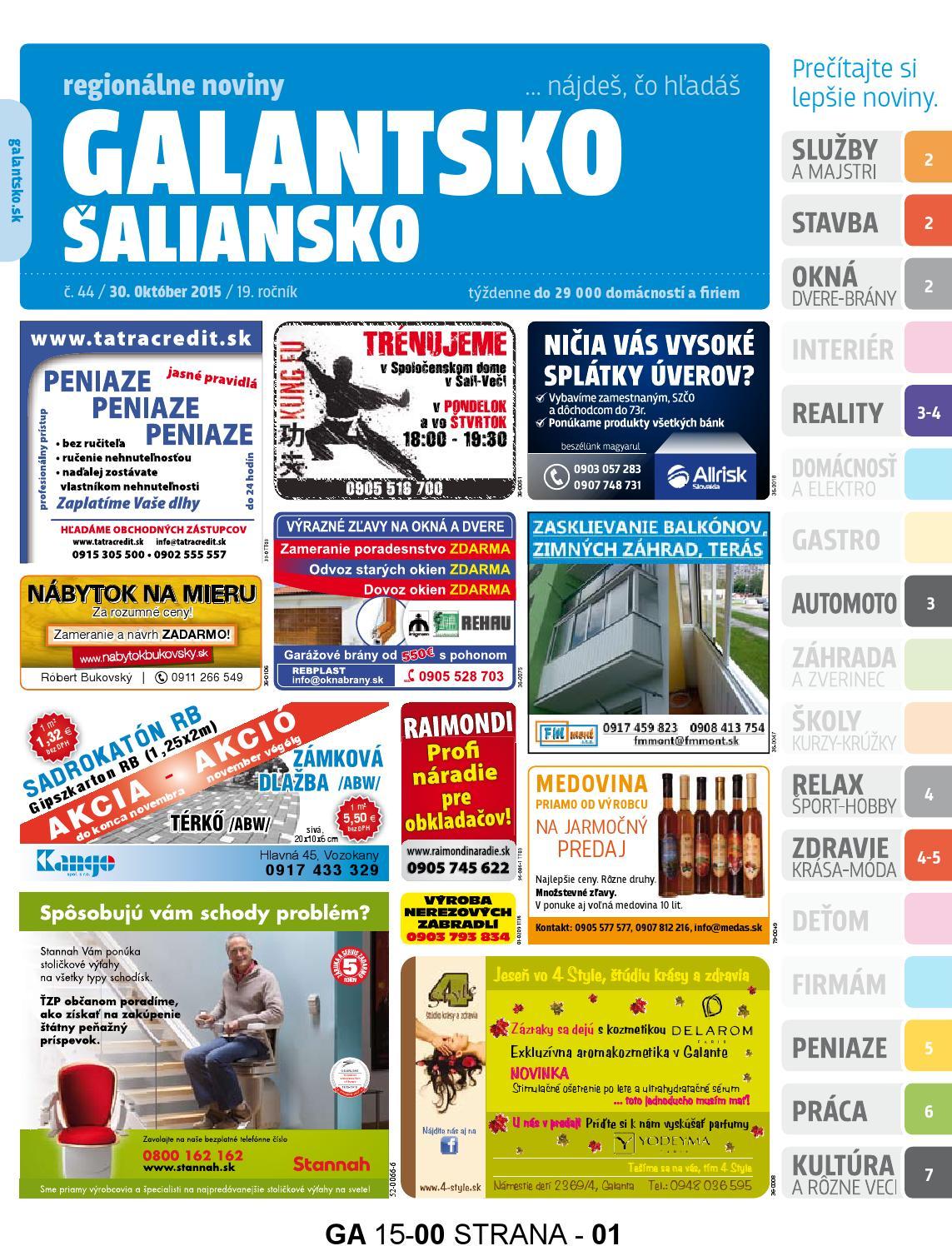 ucf Zoznamka stránky
