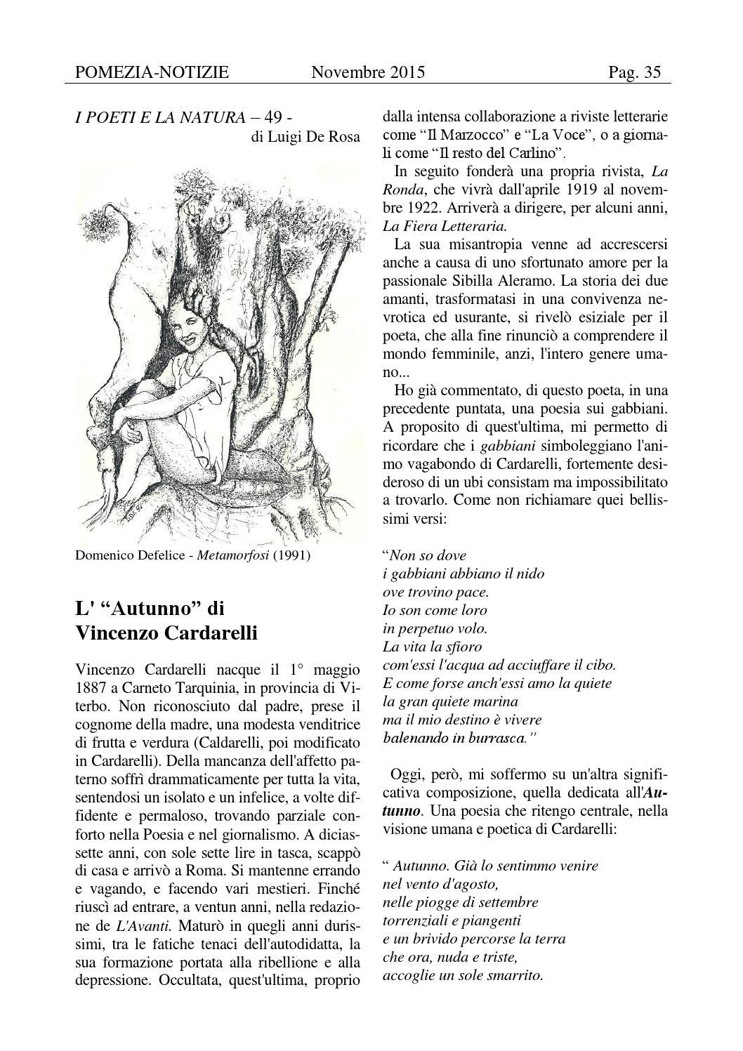 Pomezia Notizie 201511 By Domenico Issuu