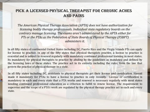 Pick A Licensed Physical Therapist For Chronic Aches And. Graphic Design Articles Small Economical Cars. Business Unified Communications. Bachelors Of Science In Education. Ams Insurance Las Vegas Stockholm Cruise Port