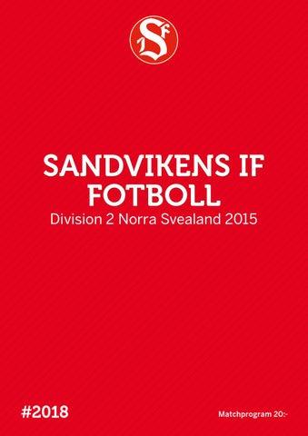 Matchprogram 2015 by Sandvikens IF - issuu 0f209f70adf65