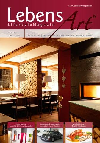 Lebensart² lifestylemagazin winter 2015 2016