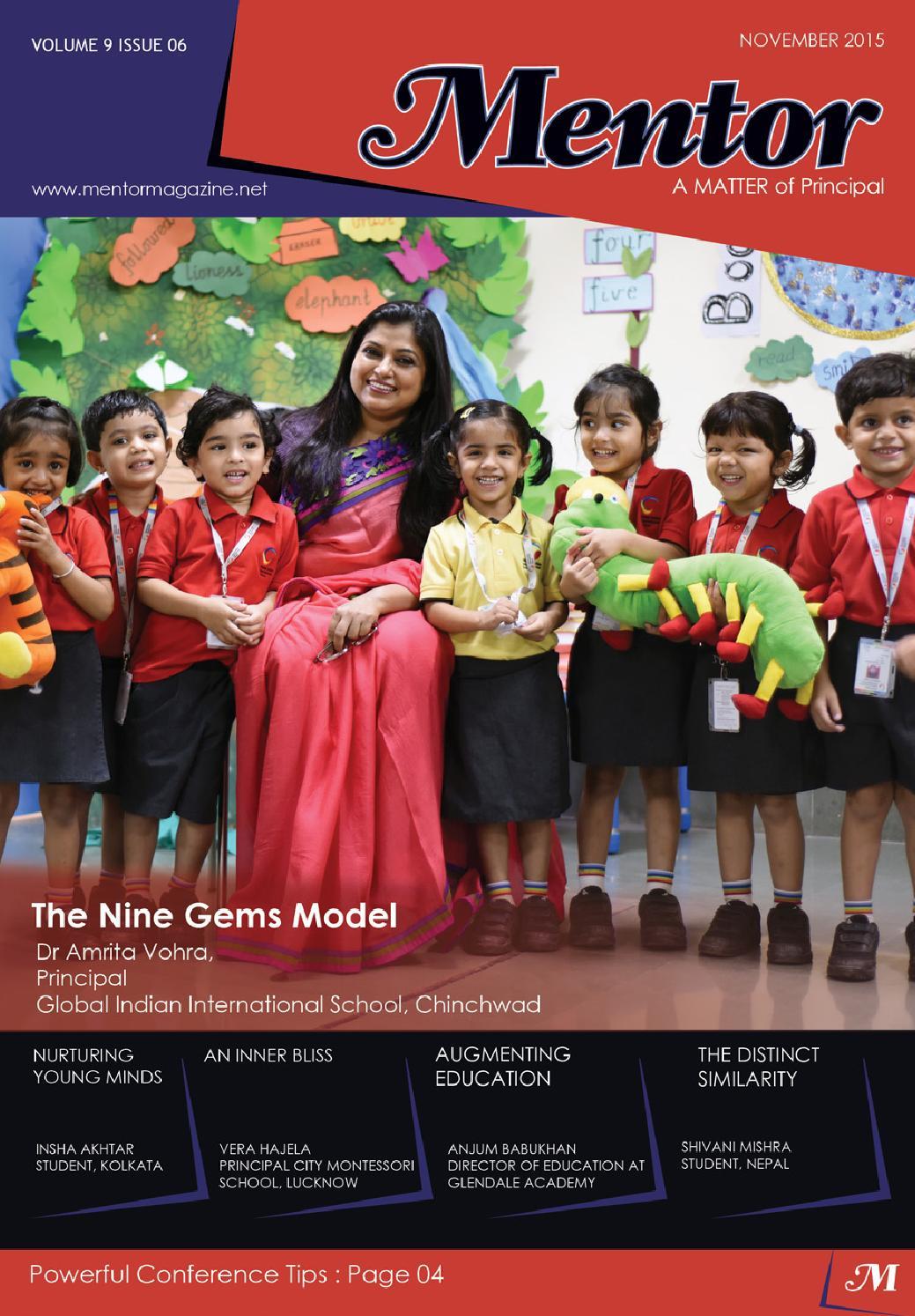 Mentor November 2015 Vol 09 Issue 06 By Magazine