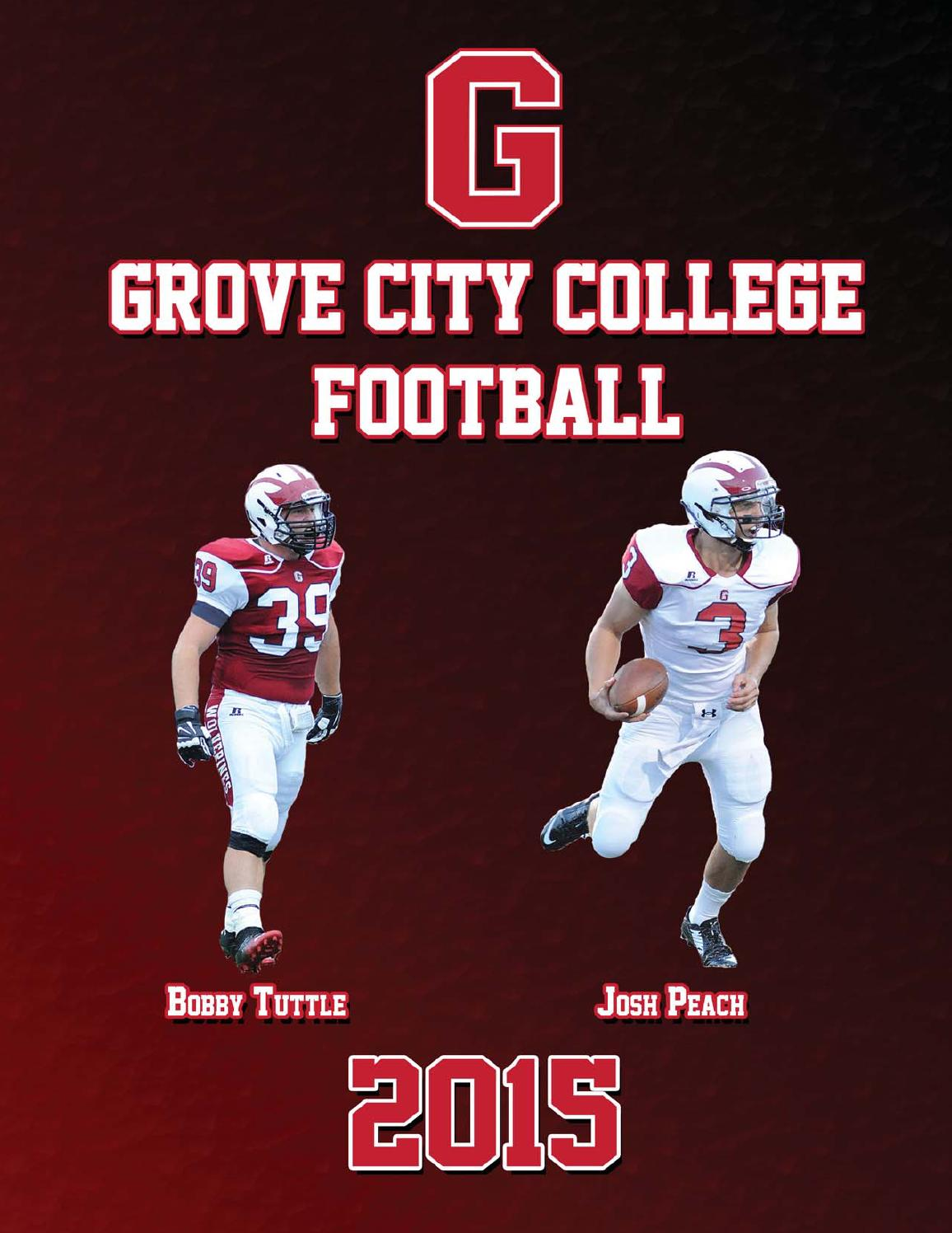 0bf8cd7f2 2015 Grove City College Football Media Guide by Grove City College - issuu