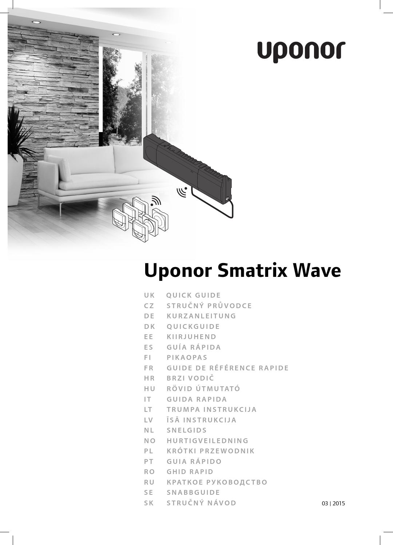 Uponor qg smatrix wave international 03 2015 by Uponor UK - issuu
