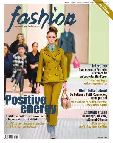 d9d6b90103e66 Fashion 6 2015 by Fashionmagazine - issuu