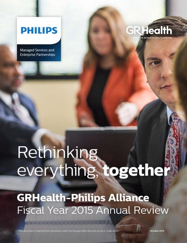 GRHealth-Philips Annual Report 2015