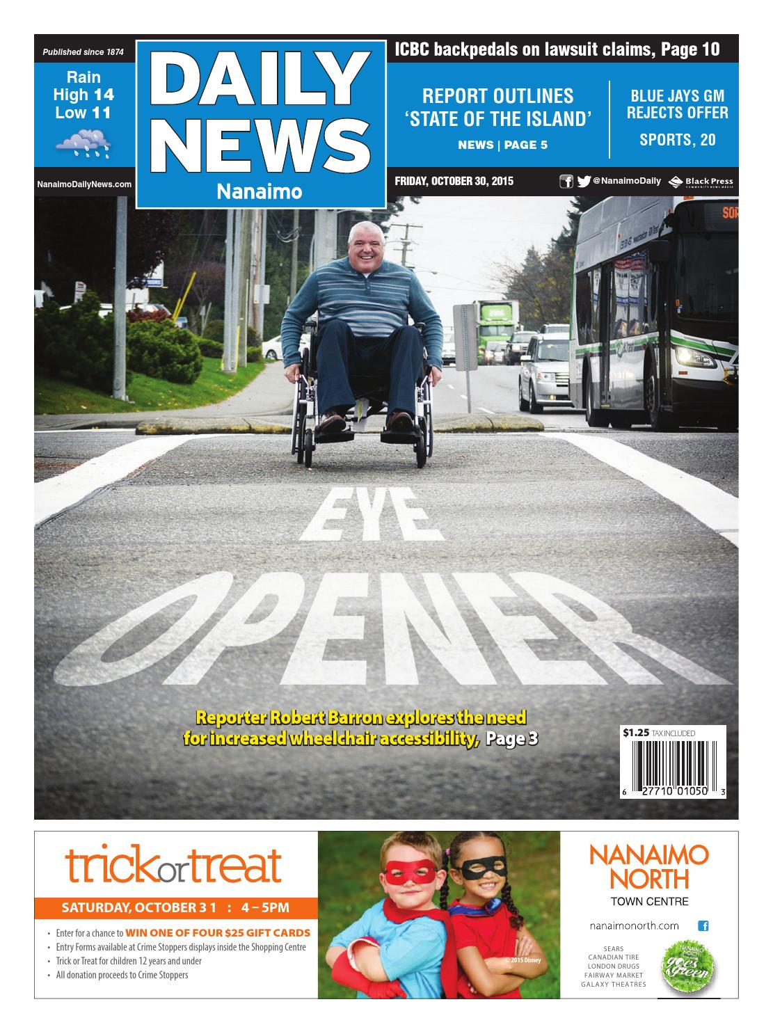 Nanaimo Daily News, October 30, 2015 by Black Press - issuu