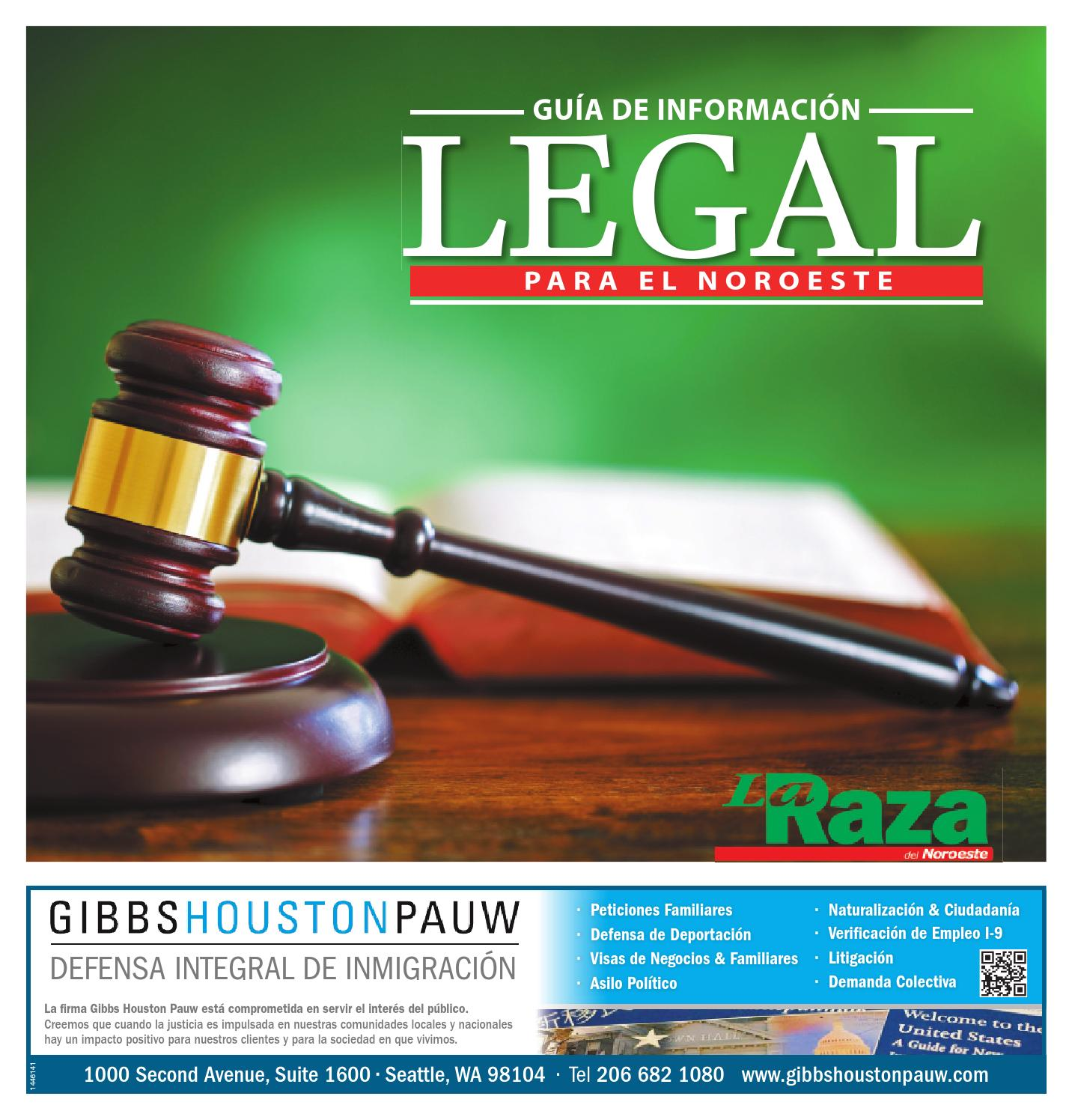 La Raza Special Sections - LaRaza Legal 10.30.15 by Sound Publishing ...