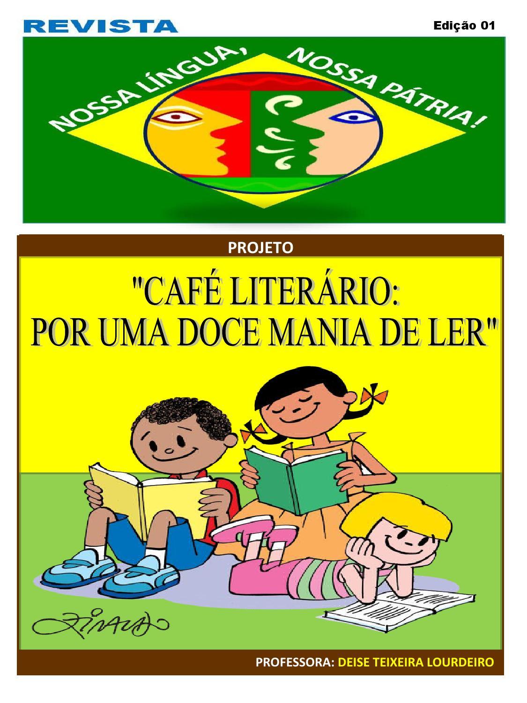 Projeto Caf Liter Rio Por Uma Doce Mania De Ler By Deise  -> Decoracao Para Sala De Aee