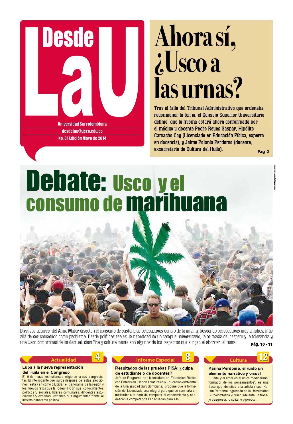 Desde la U 31 by Desde La U - issuu