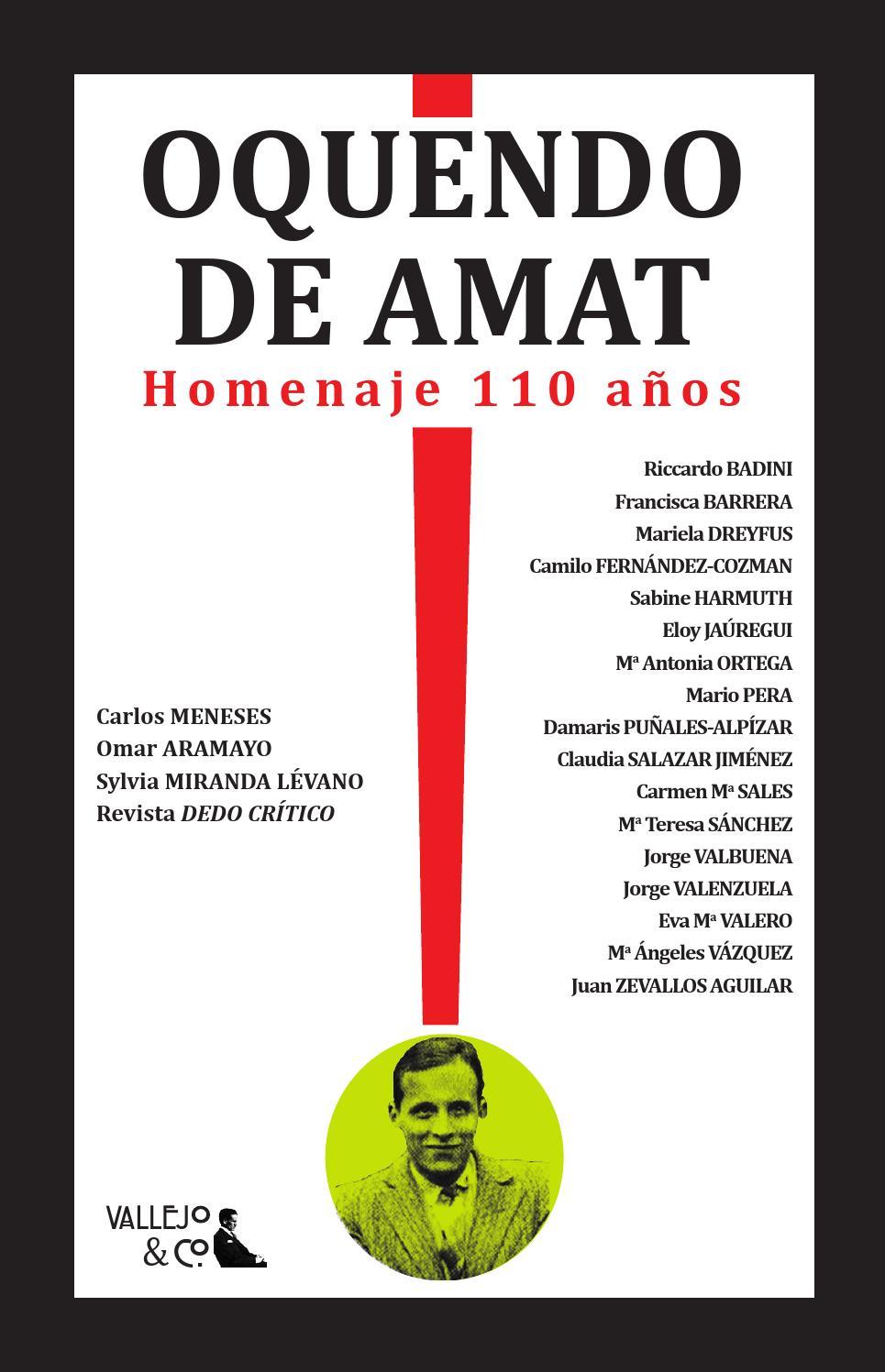 Carlos Oquendo de Amat. Homenaje 110 años by Vallejo   Co. - issuu b3034843db9