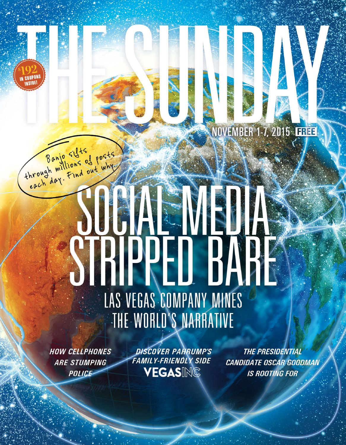 2015-11-01 - The Sunday - Las Vegas by Greenspun Media Group