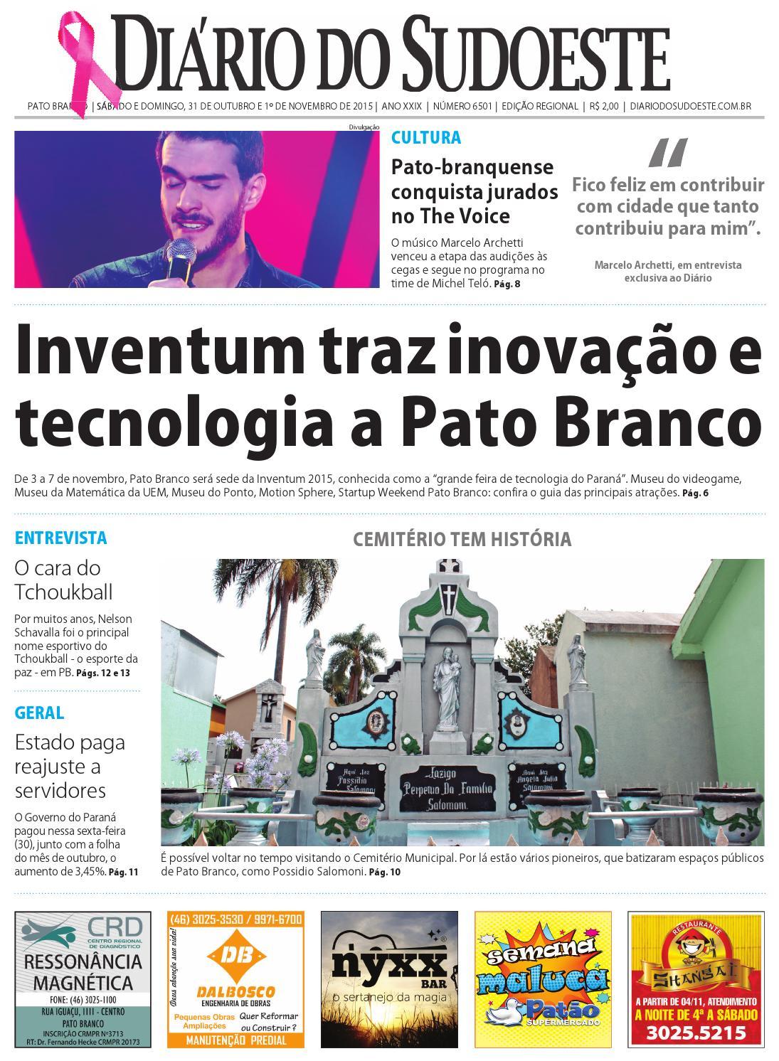 bdc8b50621ebb Diário do sudoeste 31 de outubro e 1 de novembro de 2015 ed 6501 by Diário  do Sudoeste - issuu