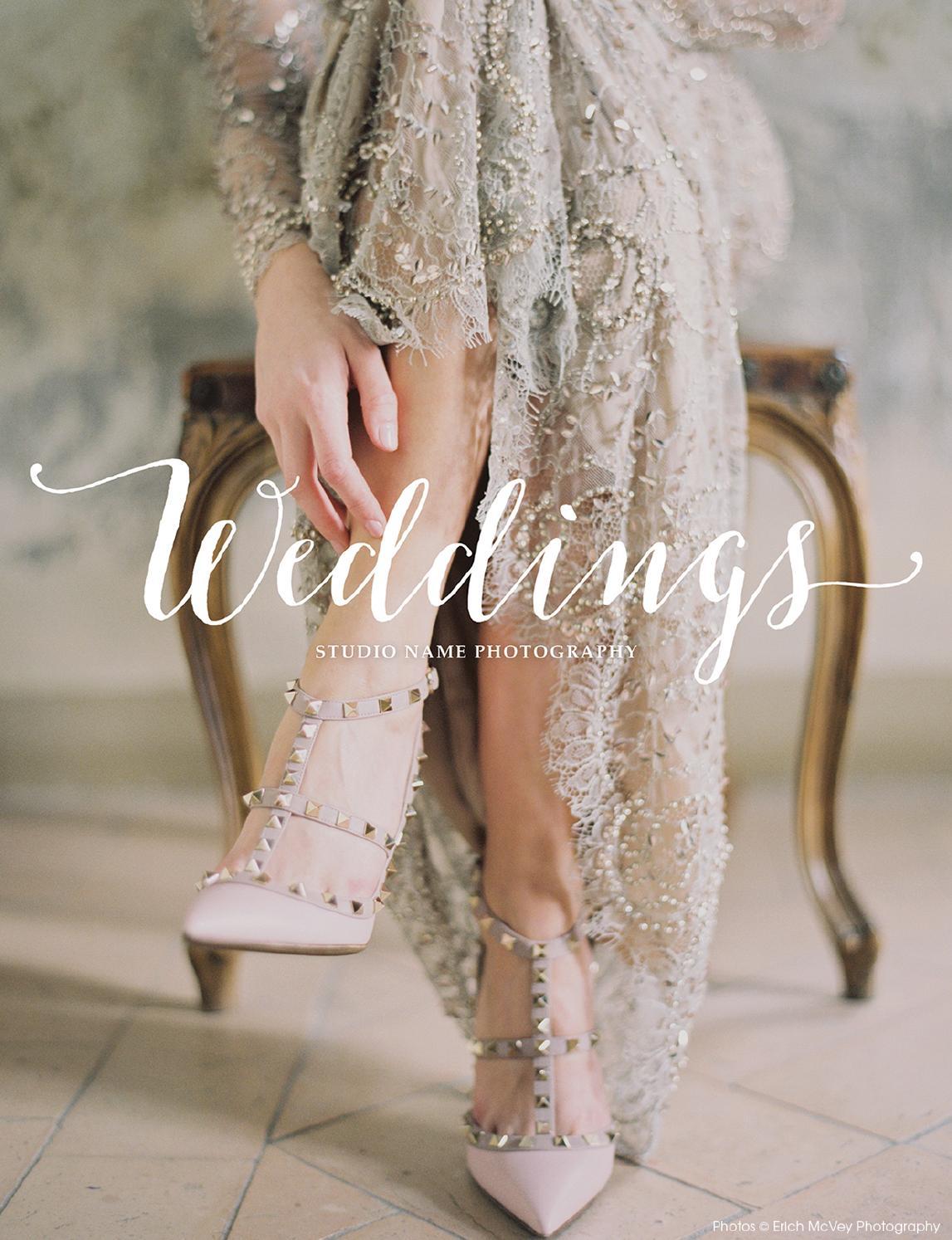 Wedding Photography Brochure Template | \