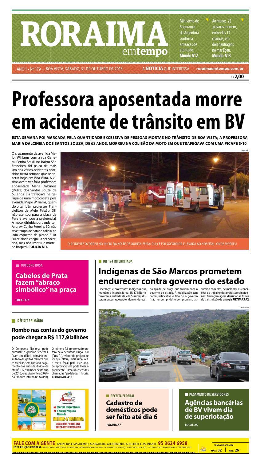 Jornal roraima em tempo – edição 179 – período de visualização gratuito by  RoraimaEmTempo - issuu a78297e9f7