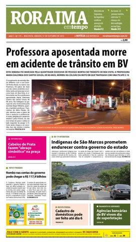 Jornal roraima em tempo – edição 179 – período de visualização ... 31c6fcea14b