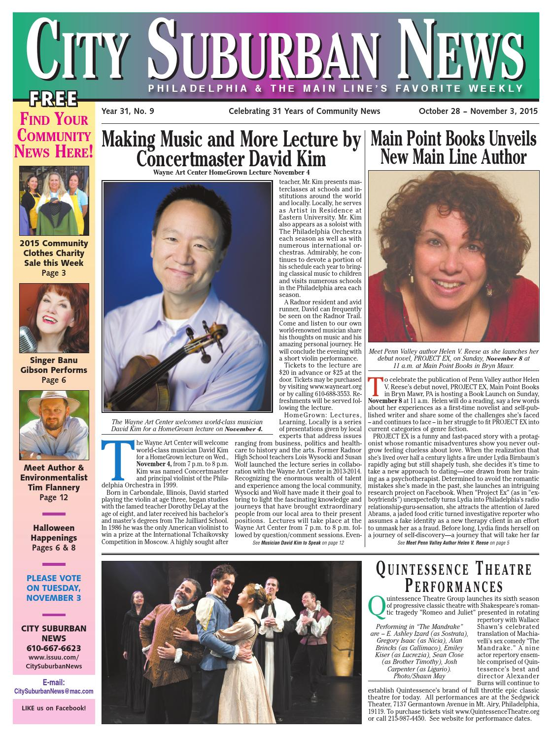 City Suburban News 10_28_15 issue by City Suburban News - issuu
