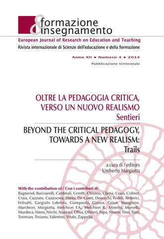 Formazione   insegnamento 4 2014 by Pensa Multimedia - issuu f08035b2c7c