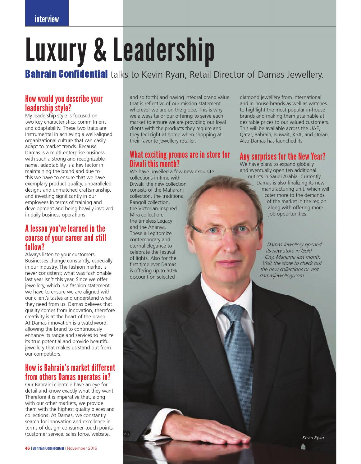 Bahrain Confidential October 2013 issue by Arabian Magazines