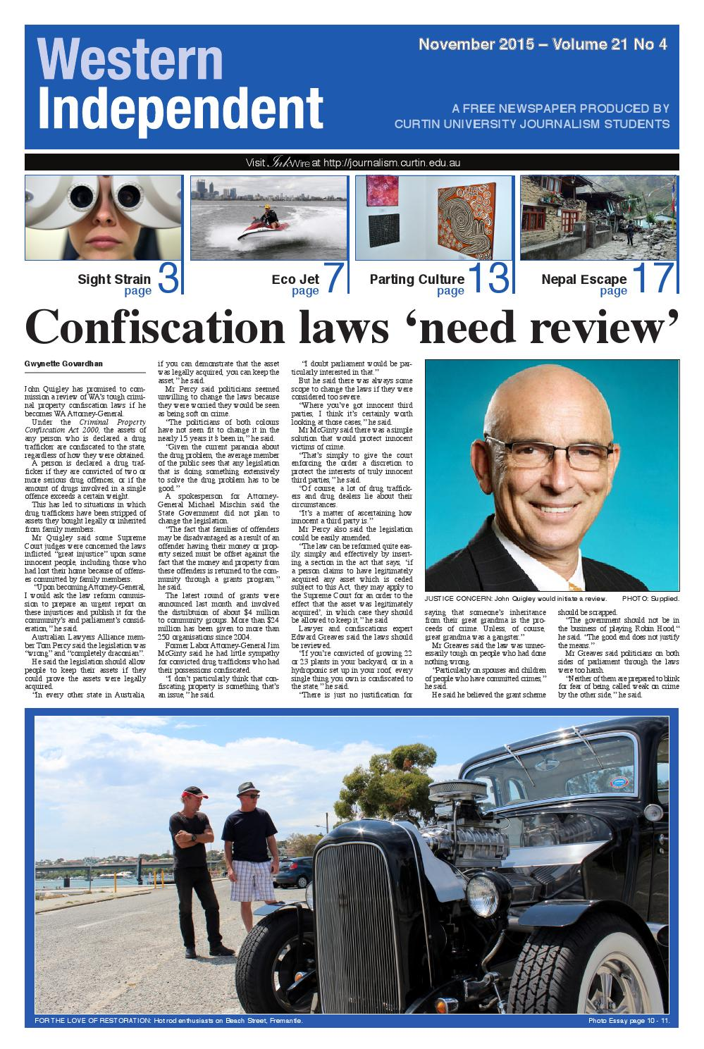 Criminal Property Confiscation Act Wa