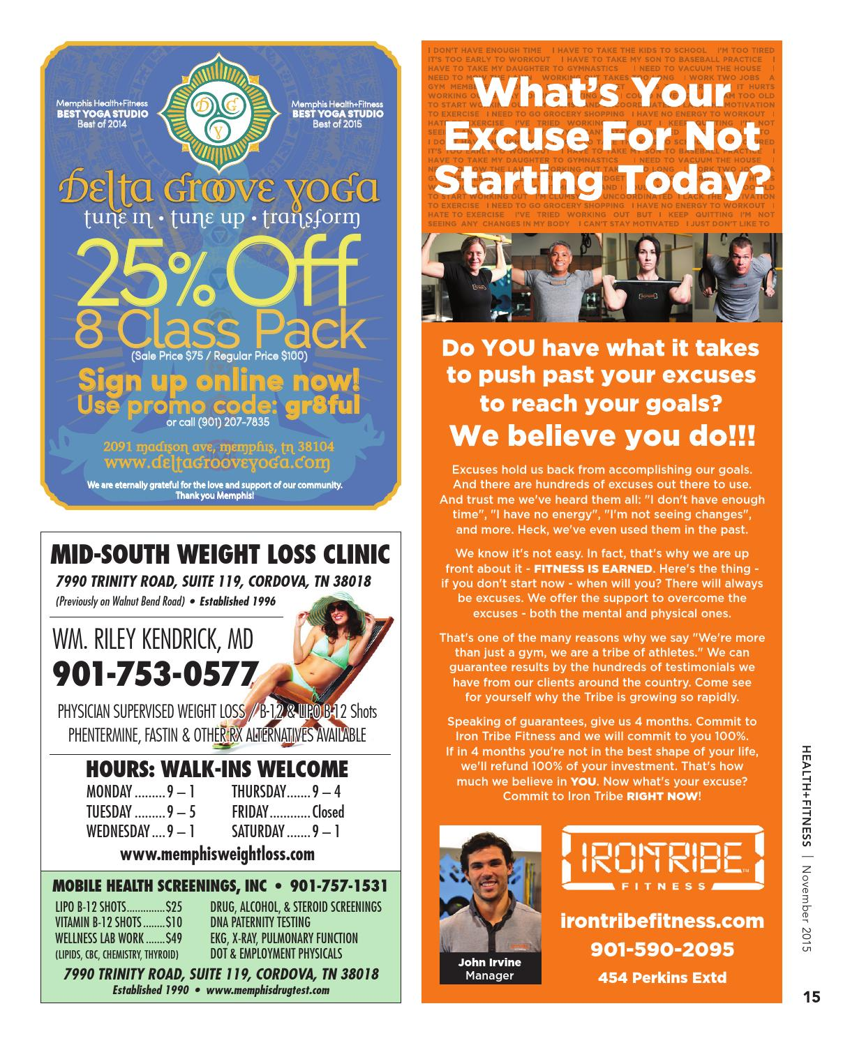H F November 2015 By Memphis Health Fitness Issuu