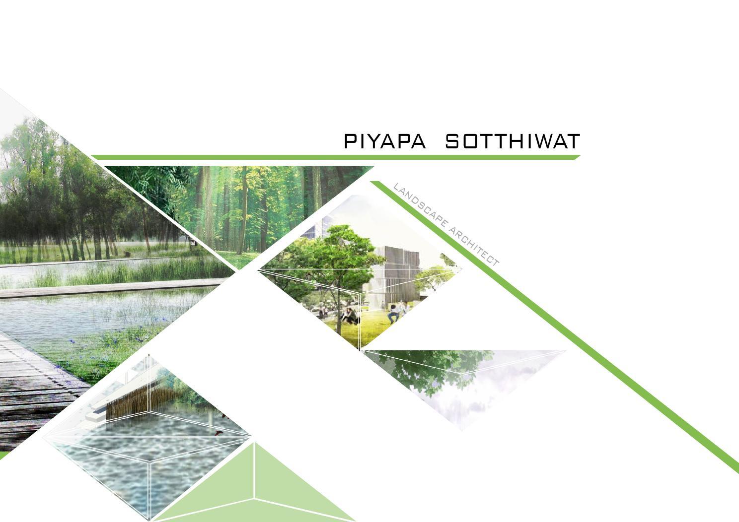 Piyapa 39 s landscape architecture portfolio 2015 by pselevin for Garden design portfolio