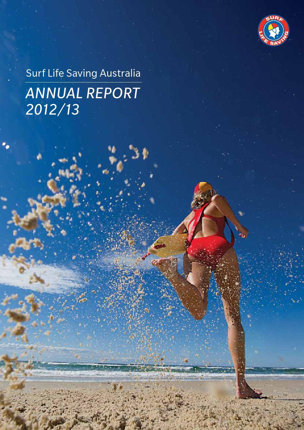 6ea727658ca Surf Life Saving Australia Annual Report 2012 13 by SLSA - issuu