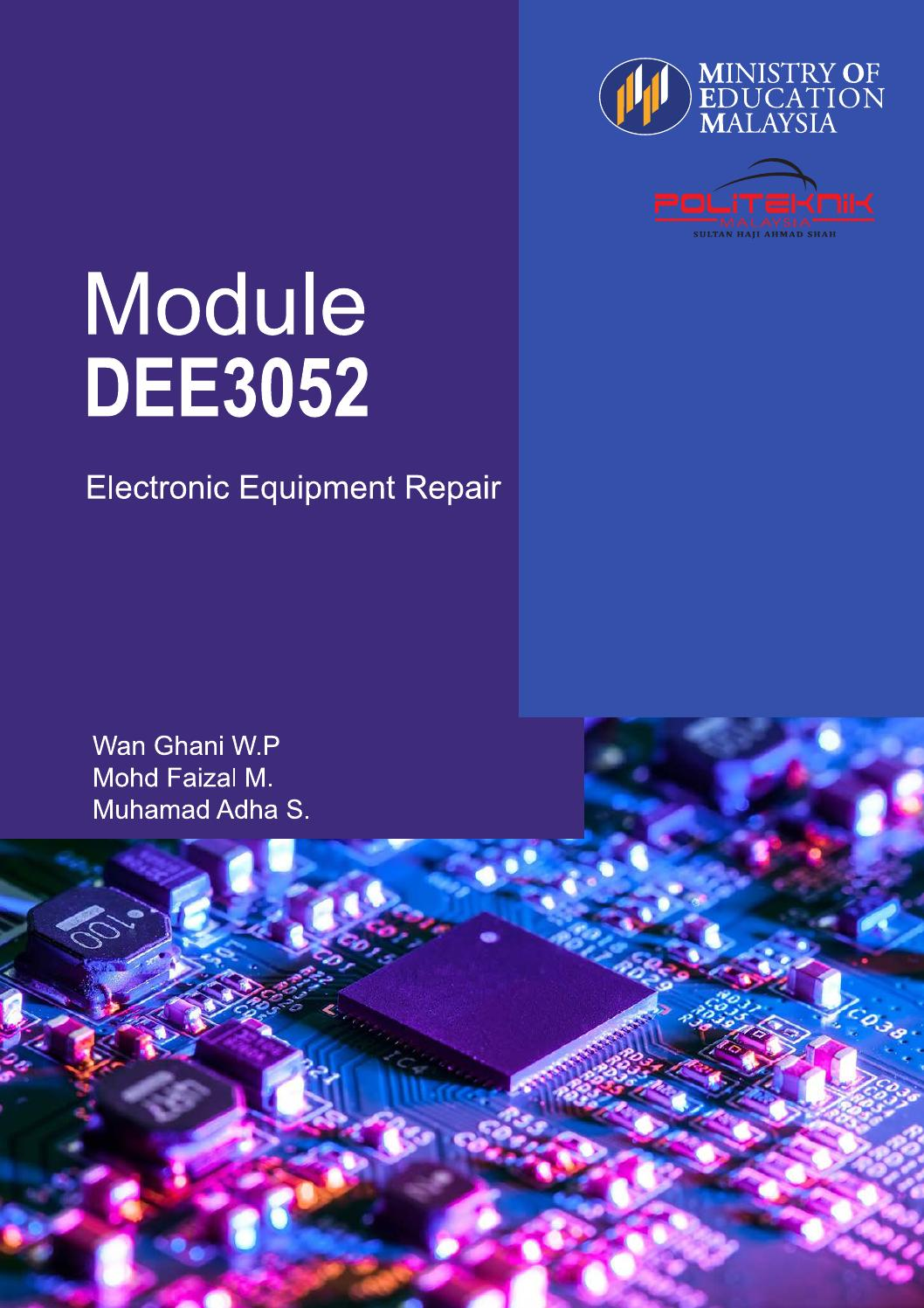 Module Dee3052 By Mfaizal Jel Issuu Frequency Modulationfm Amplifiercircuit Circuit Diagram