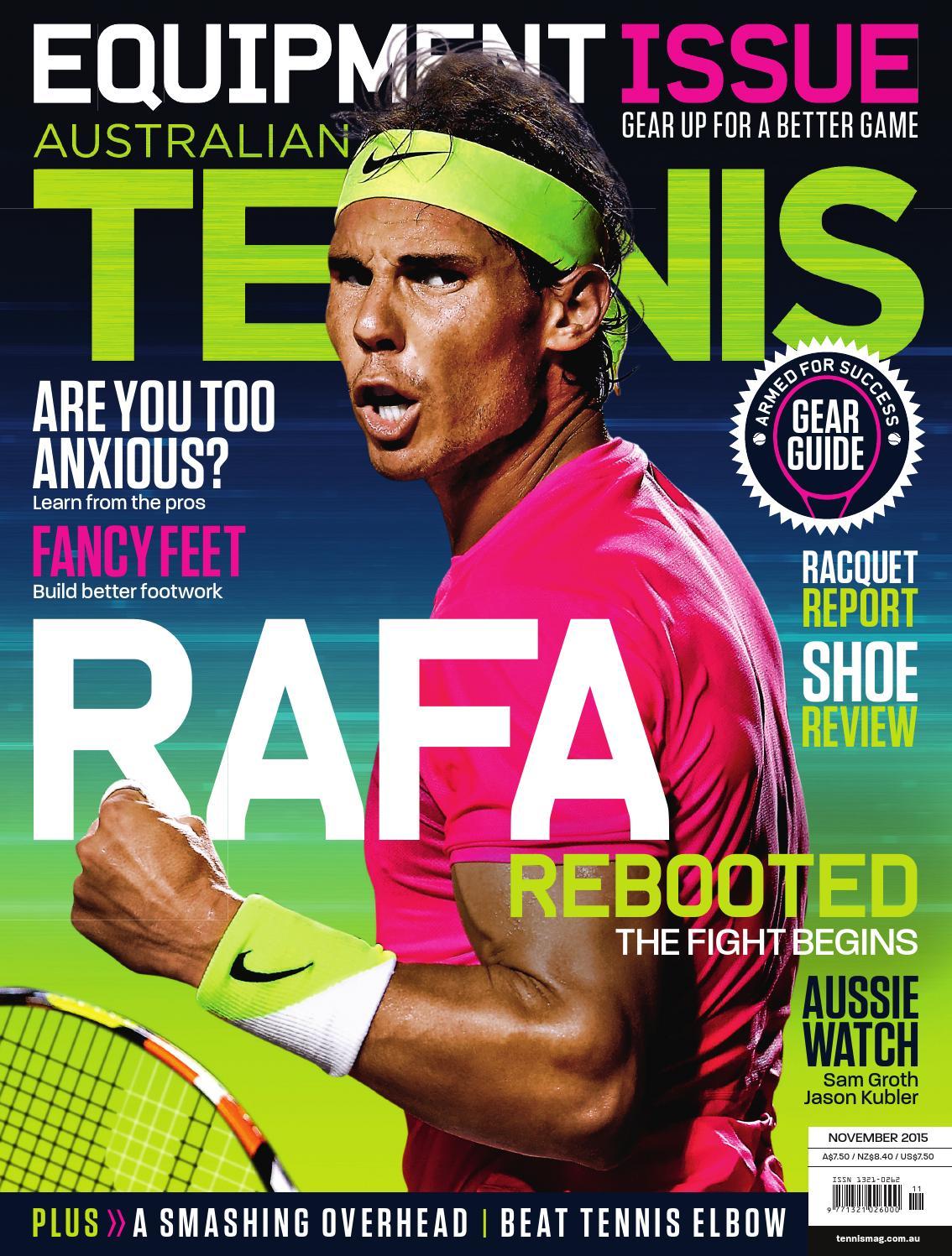 Tennis Magazine Shoe Review