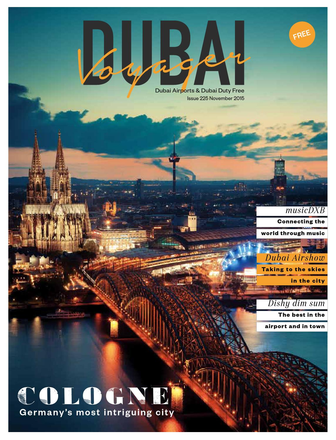 Dubai Voyager | November 2015 by Motivate Publishing - issuu