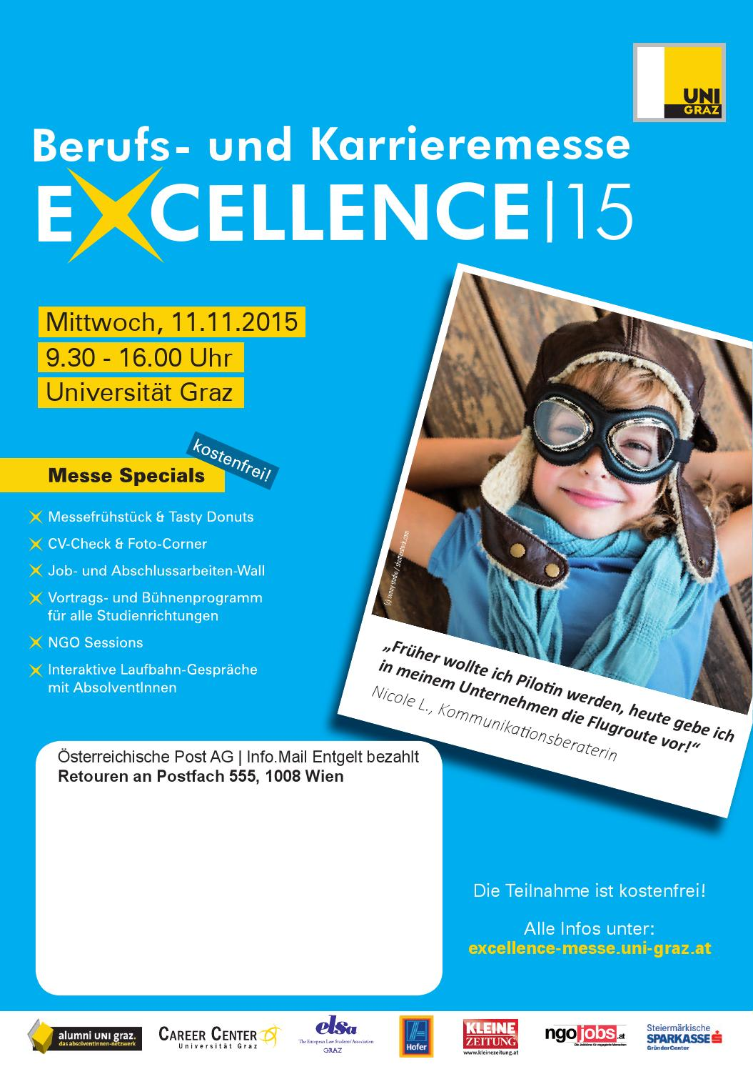 EXCELLENCE|15 Messemagazin by Carla Career - issuu
