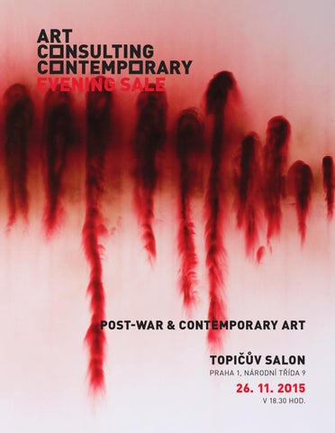 b5c07eba1a5 ART CONSULTING CONTEMPORARY - EVENING SALE 2015 by Ondrej K - issuu