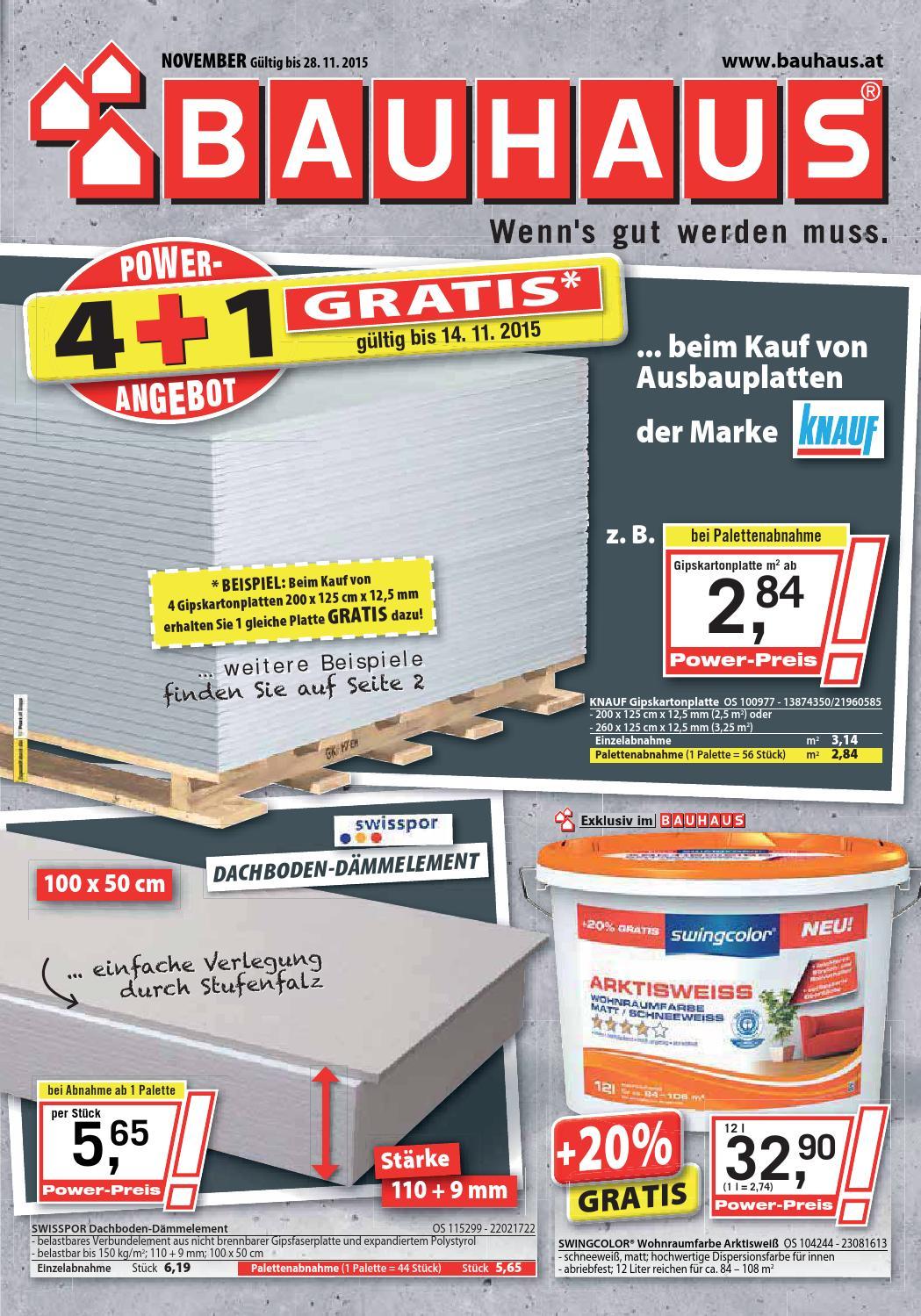 Bauhaus Angebote 1 28november2015 By Promoangeboteat Issuu