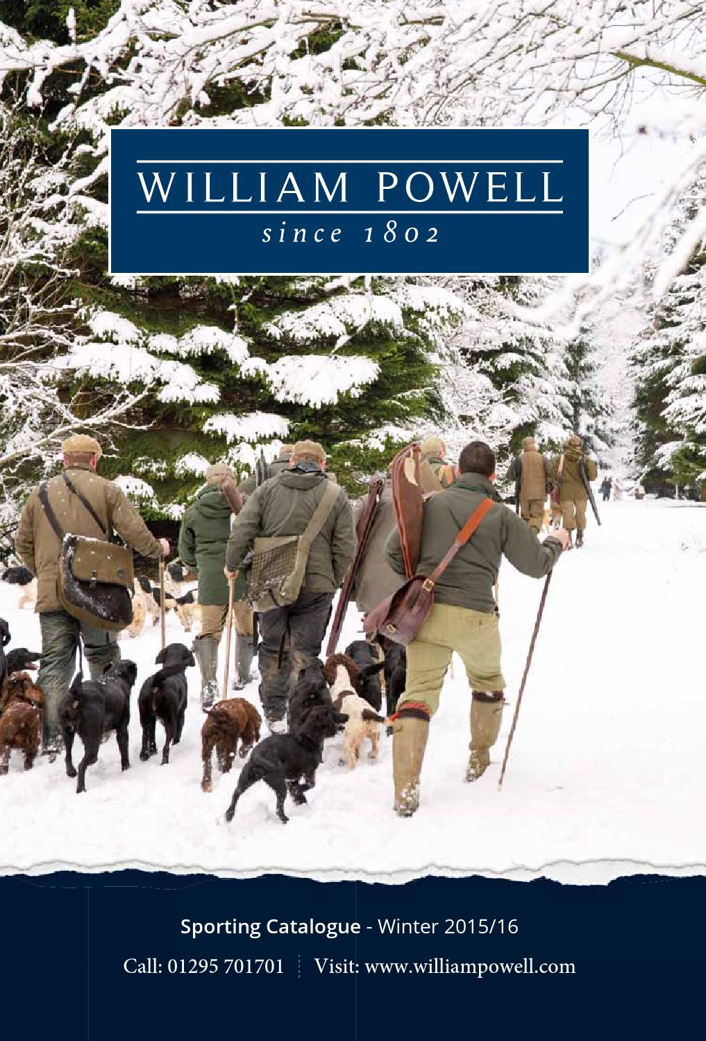 1eb3721d53f6 William Powell Winter 2015 Catalogue by William Powell - issuu