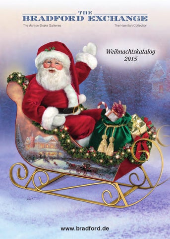 Weihnachtskatalog Deutschland 2015 by Bradford Exchange - issuu