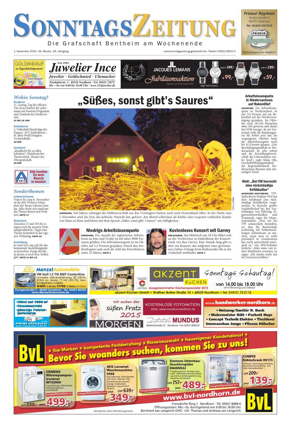 Sonntagszeitung_1.11.2015 by SonntagsZeitung - issuu
